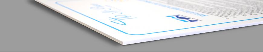 Stampa su Forex PVC